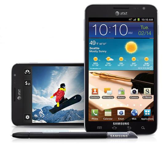 Samsung Galaxy Note выйдет на рынок США 19 февраля