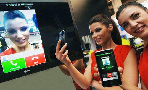 LG показала новую систему видеотелефонии через LTE-сети