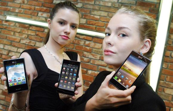 Смартфоны LG L3, L5 и L7