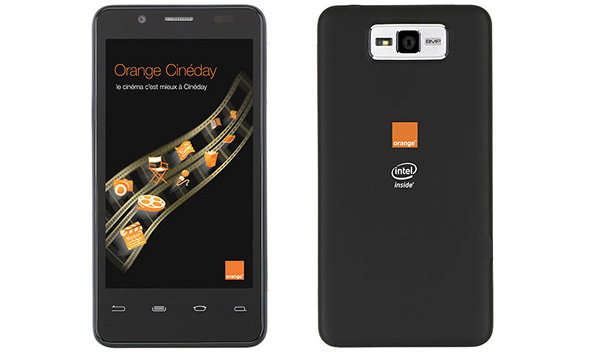 Orange показал «гуглофон» на платформе Intel Medfield