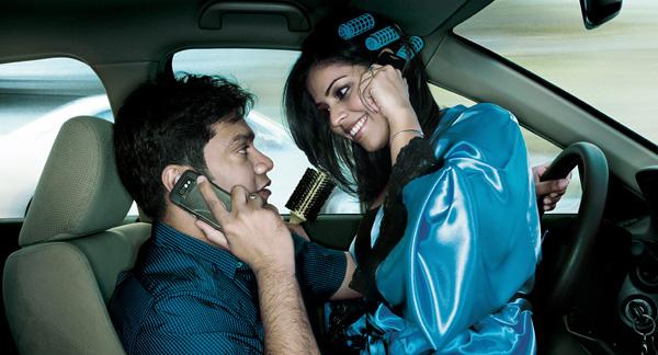 NEC представит технологию отключения смартфона за рулем