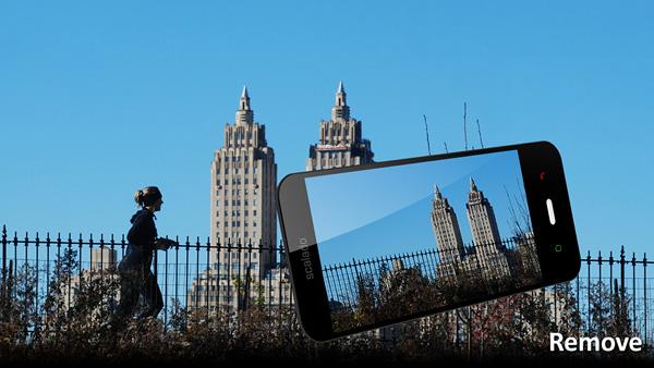 Мобильное приложение от Scalado избавит фото от лишних объектов