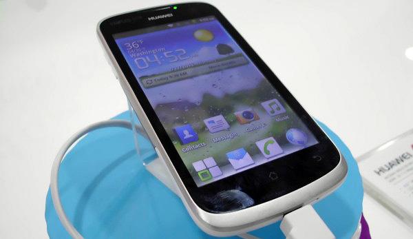 Vodafone в начале апреля начнет продажи первых Huawei Ascend