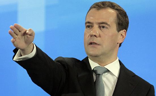 Медведев потребовал для россиян MNP