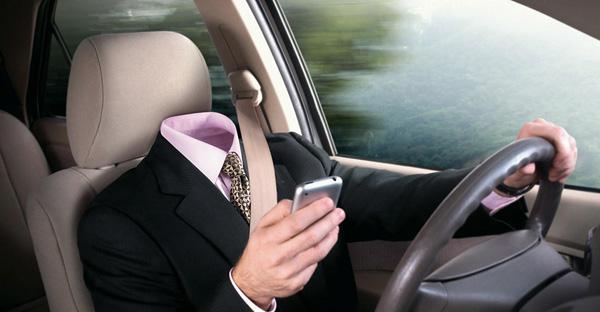 55% российских водителей пользуются SMS за рулем