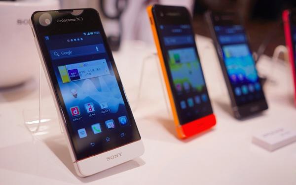 NTT Docomo представил первые Sony Xperia c поддержкой LTE