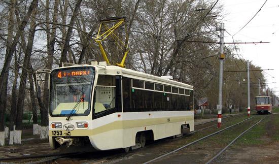 В Ульяновске (Россия) появились трамваи с бесплатным Wi-Fi