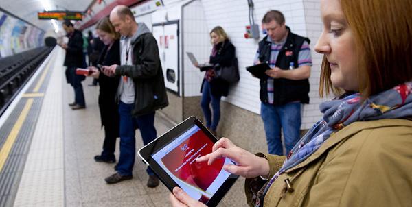 В метро Лондона появился бесплатный Wi-Fi