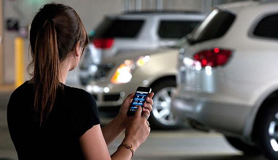 Мобильный телефон вскоре заменит ключи