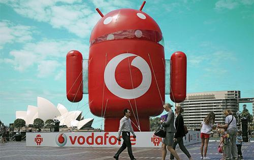 Vodafone упростил совершение покупок из Андроид Маркета