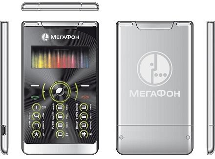 Телефон размером с банковскую карту от МегаФон
