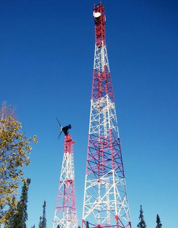 Сотовая связь в Сибири работает при помощи ветра