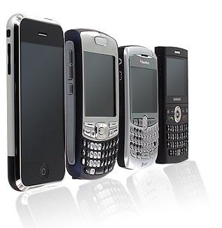 Смартфоны обогнали простые мобильники