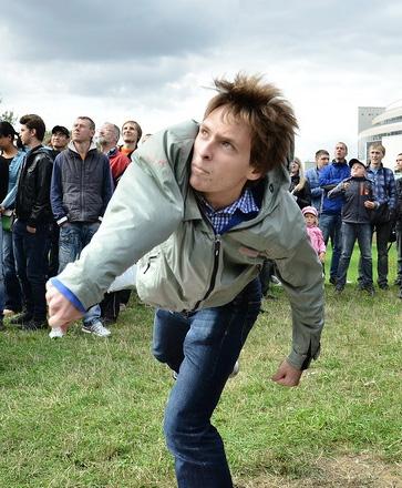 В Минске установлен новый национальный рекорд по метанию мобильников