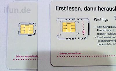В T-Mobile поступила первая партия nano-SIM