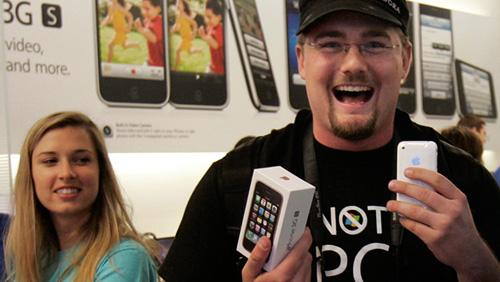 iPhone3 уже исчез?