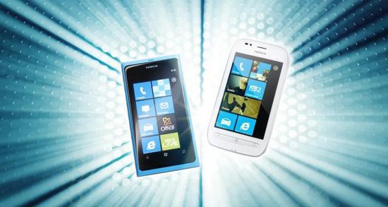 Lumia 800 и 710