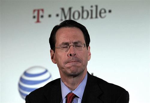AT&T разуверился в слиянии с T-Mobile