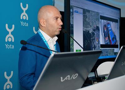 Yota запустила первую сеть LTE в России