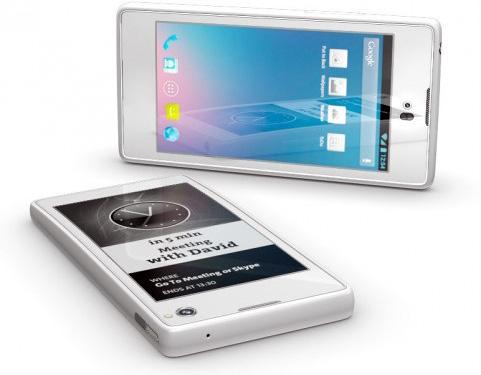 Yota разработала LTE-смартфон с двумя дисплеями